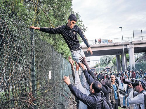 In Calais, a desperate wait to cross the Channel
