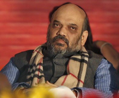 Amit Shah trapped in lift for 40 minutes; rescued by CRPF