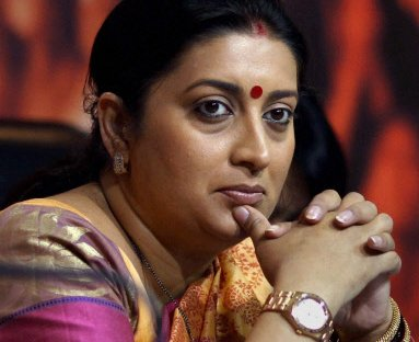 Spelling mistakes spotted in Smriti Irani's letter, Inquiry ordered