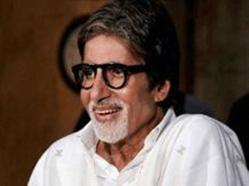 Big B celebrates Poet's day 'under the shadow of' his father