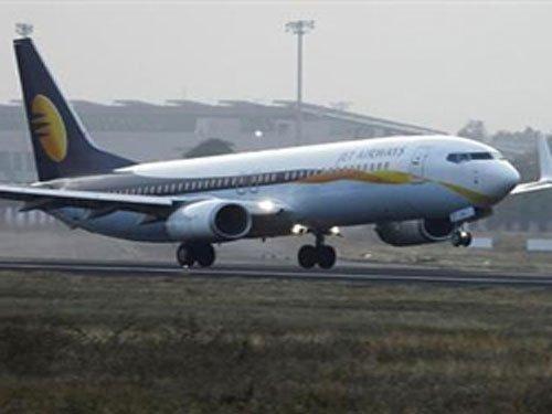 Jet Airways plane lands with reserve fuel, pilots suspended
