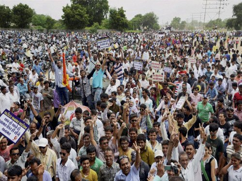 "'Guj Patels have 56-inch chests,"" says quota movement leader"