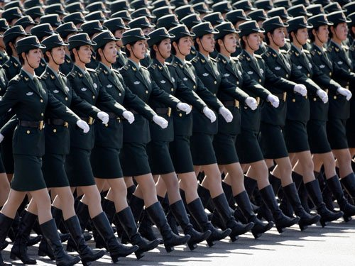 Over 10 countries to join China's military parade, India says no