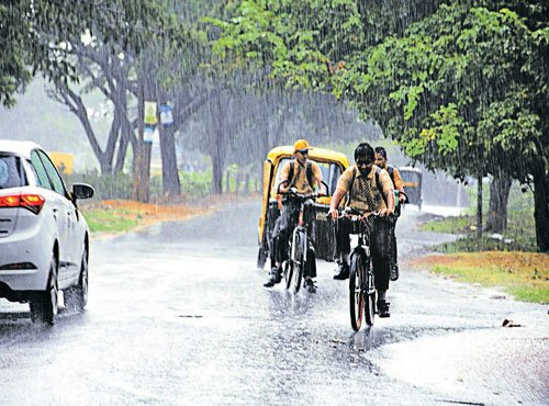 Monsoon gathers momentum in State