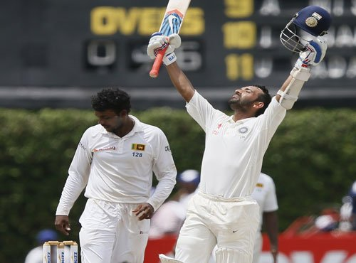 Rahane ton leads the way for India on Day 4