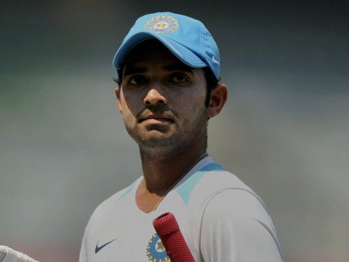 Rahane relieved after century