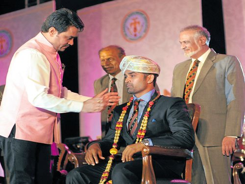 State cricketers honoured