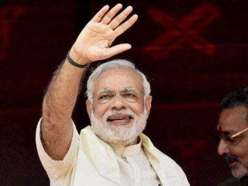 Modi hails BJP win in Bengaluru