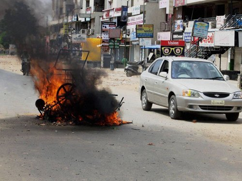 Quota row: 5 killed in violence; Army called in