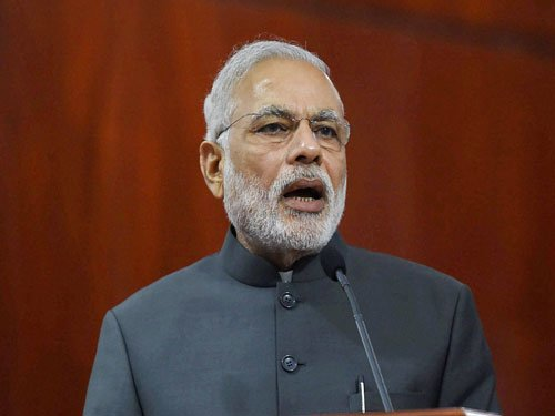 PM interacts with B'luru police station on digital policing