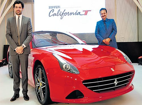 Ferrari aims at 15 unit sales by 2015-end in India