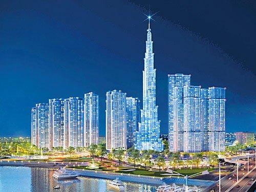 Building Vietnam's tallest skyscraper