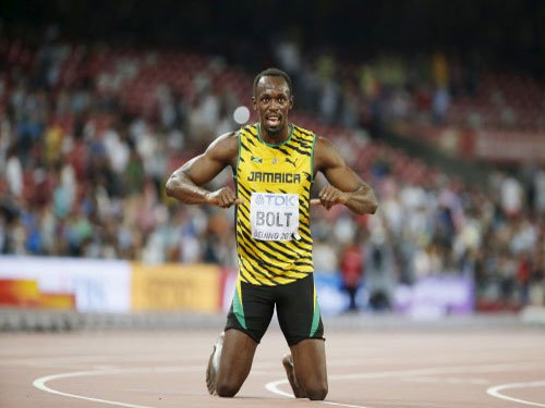 Bolt shows he is still the boss