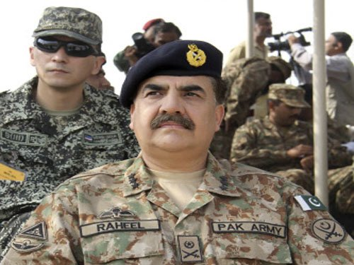 Pak army chief says 'India-backed terror' linked to LoC firing