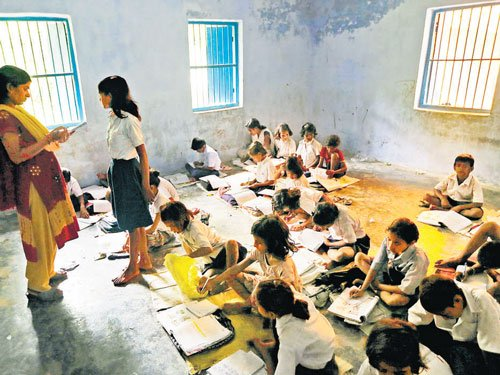 40 pc children drop out of secondary education in K'taka