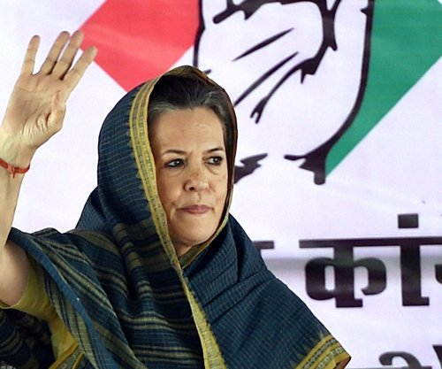 Sonia Gandhi to address 'Swabhiman' rally today, Rahul to give it a miss