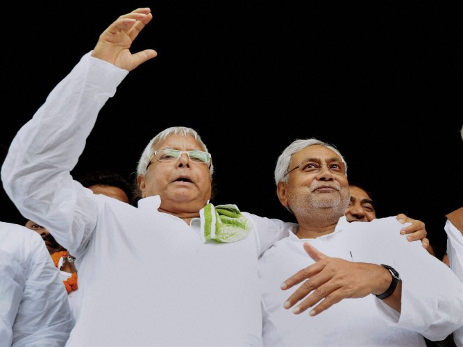 Thousands gather for Patna rally