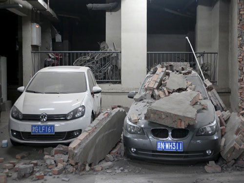 China blasts toll rises to 150