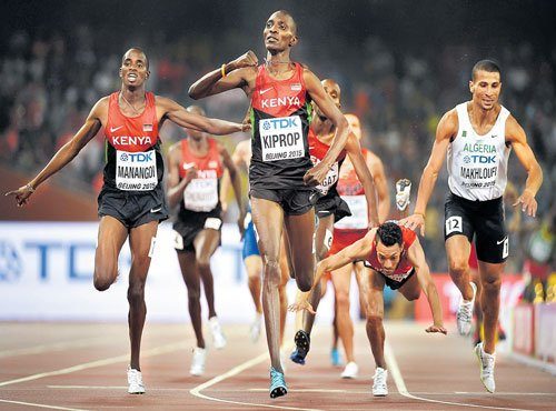 Ayana, Kiprop light up final day