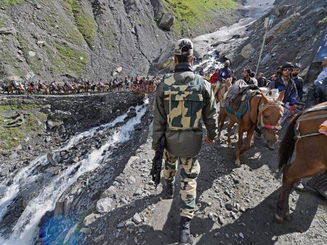67 CRPF companies guarded Amarnath yatra