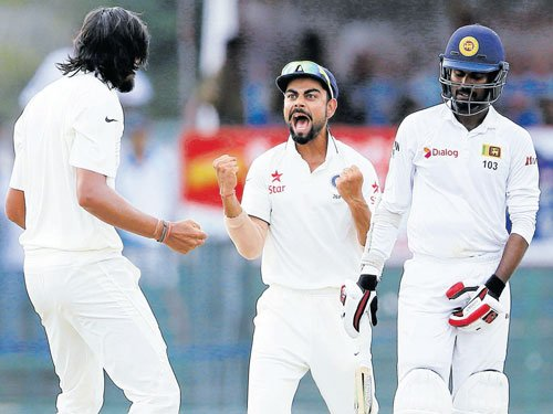India in sight of rare series win