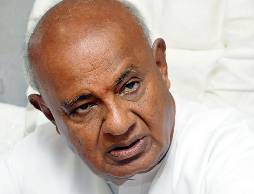 No conditions for truck with Cong, says Gowda