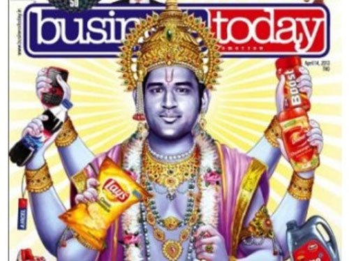 Dhoni moves SC against K'taka HC order over portrayal as god