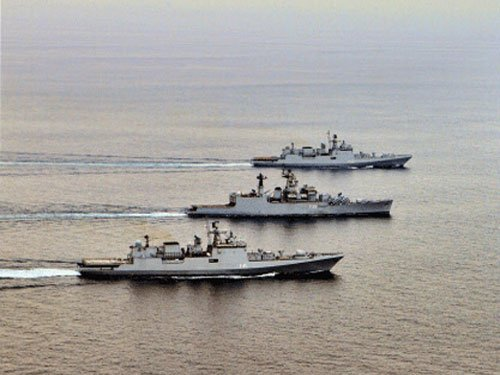 Bilateral maritime exercise between India and Australia begins