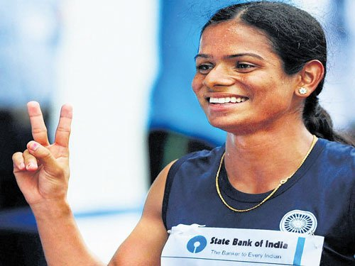 Dutee Chand clinches gold in National Open Athletics