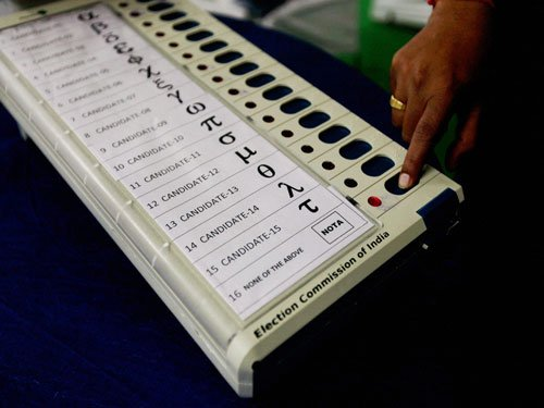 After political parties, now 'NOTA' has its own symbol