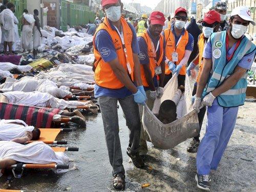 Indian Haj volunteer, parents among 769 stampede victims