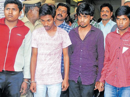 Constable's quick action helps in arrest of hotel staffer's killers