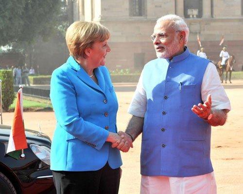 PM Modi, Merkel hold talks