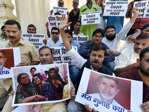 UP submits report on Dadri lynching, no mention of beef eating