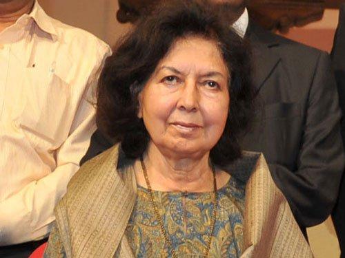 Nehru's niece to return Sahitya Akademi Award