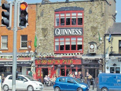 The Irish flavour