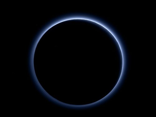 NASA spacecraft finds blue skies, water ice on Pluto