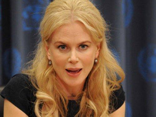 I was running from my life: Nicole Kidman