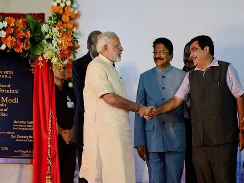 PM lays foundation stone of JNPT's Rs 7,900 cr 4th terminal