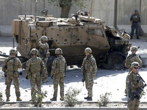 British troops among five killed in Kabul chopper crash