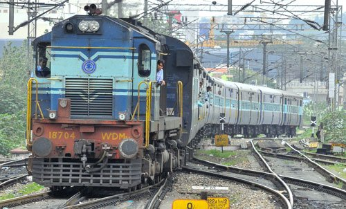 Woman pushed off running train by GRP constable