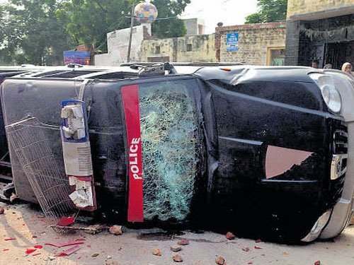 Two killed as protesters clash with police in Punjab