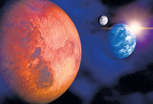Refueling on Moon best shot to take humans to Mars