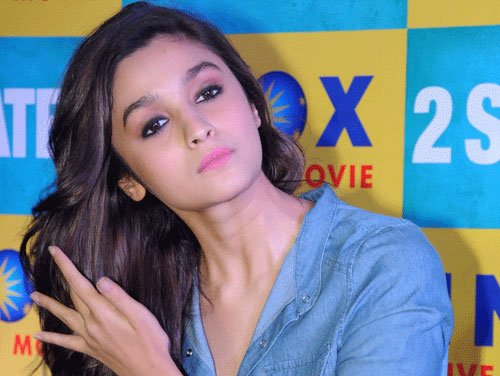 Fortunate that directors are choosing me: Alia Bhatt