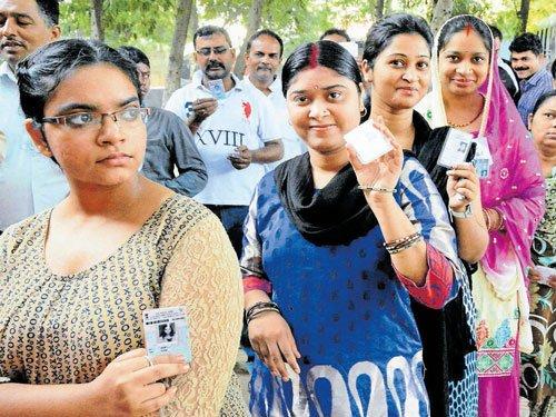 55 pc polling in Bihar Phase II