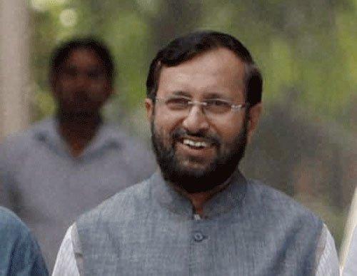 Javadekar lambasts Sonia Gandhi; calls Cong 'most communal'