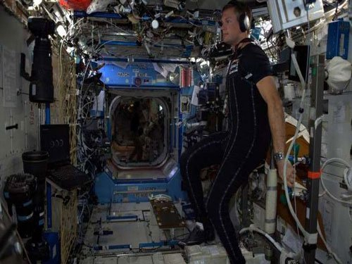 New 'SkinSuit' trialled in space