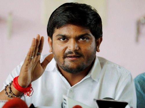 Hardik Patel arrested  for sedition