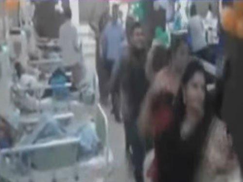 Staff plays garba inside hospital ward; govt mulls action