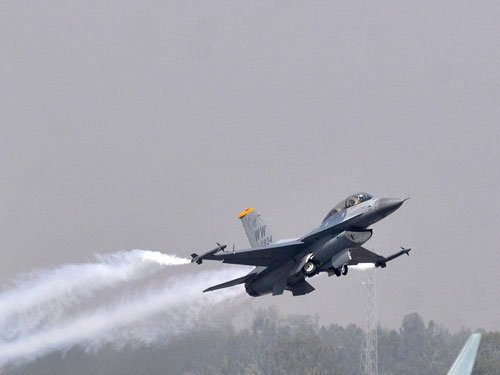 US to sell eight F-16s to Pak: Report